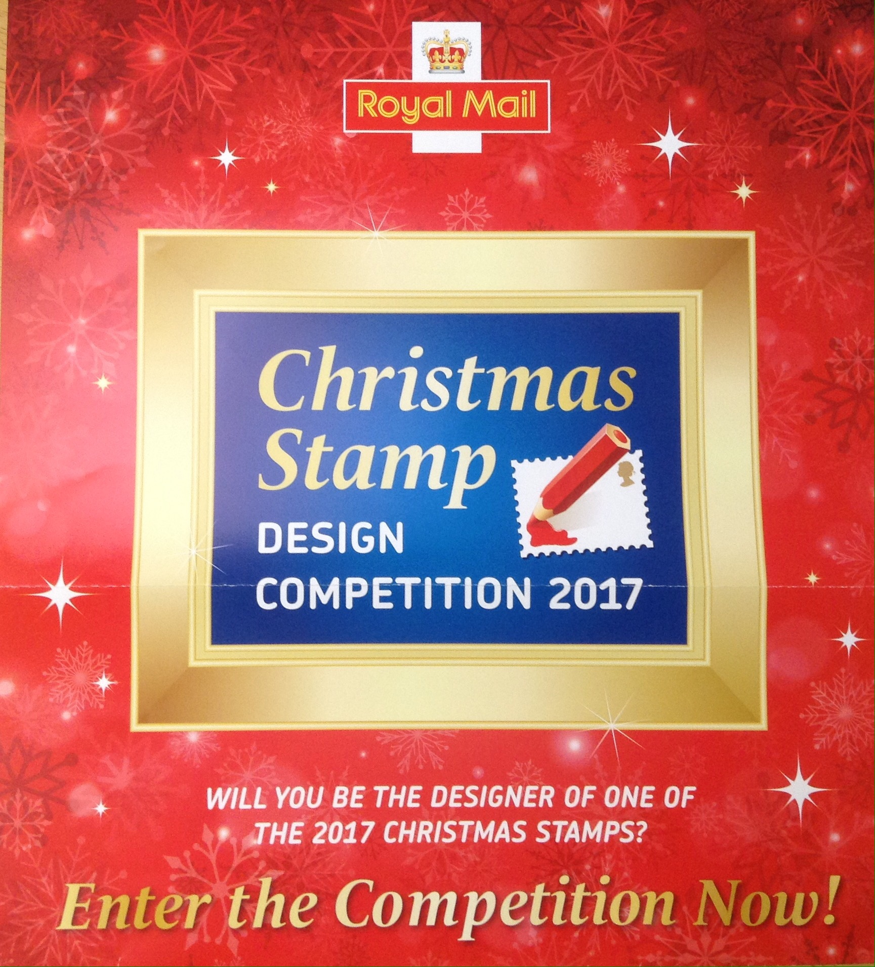 Competition Corner U2013 Christmas Stamp Design 2017 Delves Junior School